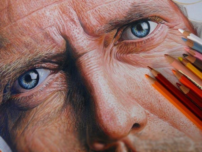 نقاشی-با-مداد-رنگی