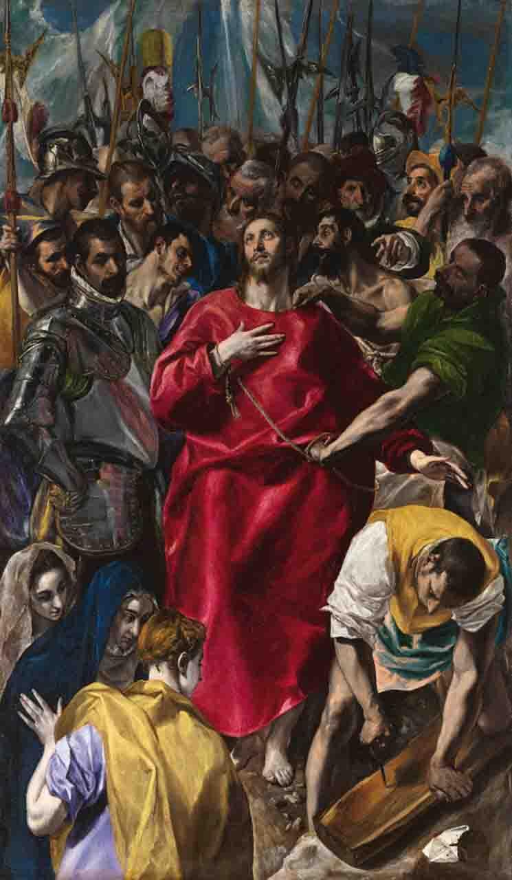 ال گرکو دوره منریسم آموزشگاه نقاشی یوسف زاده