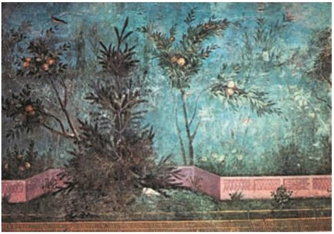 طراحی منظره روم باستان _ آموزشگاه نقاشی در هفت حوض