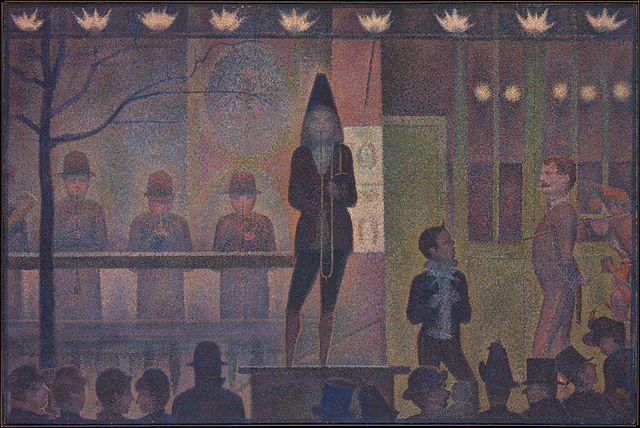 دادگاه _ ژرژ سورا _ نئو امپرسیونیسم _ آموزشگاه نقاشی در هفت حوض