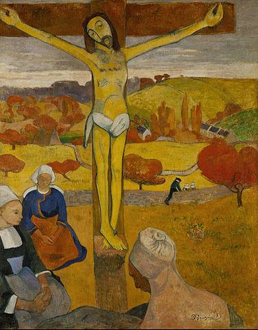 مسیح زرد _ پل گوگن _ از سمبولیسم تا فوتوریسم _ آموزشگاه نقاشی در نارمک